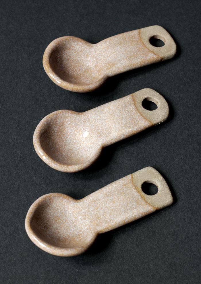 handgemachte Keramiklöffel