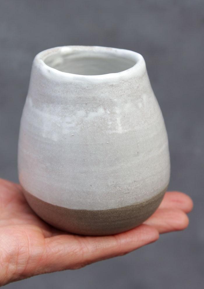 handgemachte Keramikvase